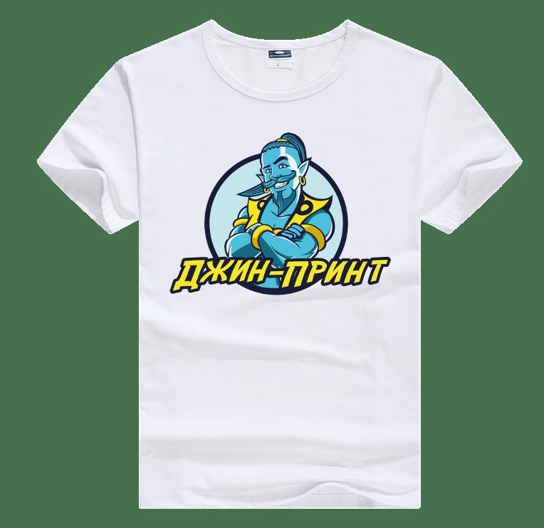 Печать-на-футболках